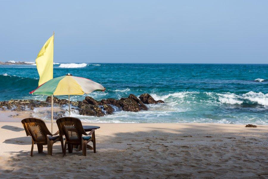 Silent beach, Unakuruwa, Sri Lanka