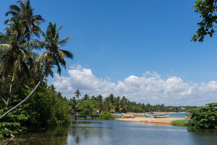 Plage de Tangalle, Sri Lanka