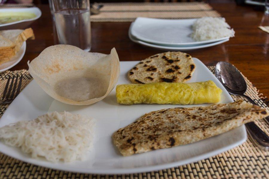 Petit-déjeuner sri lankais