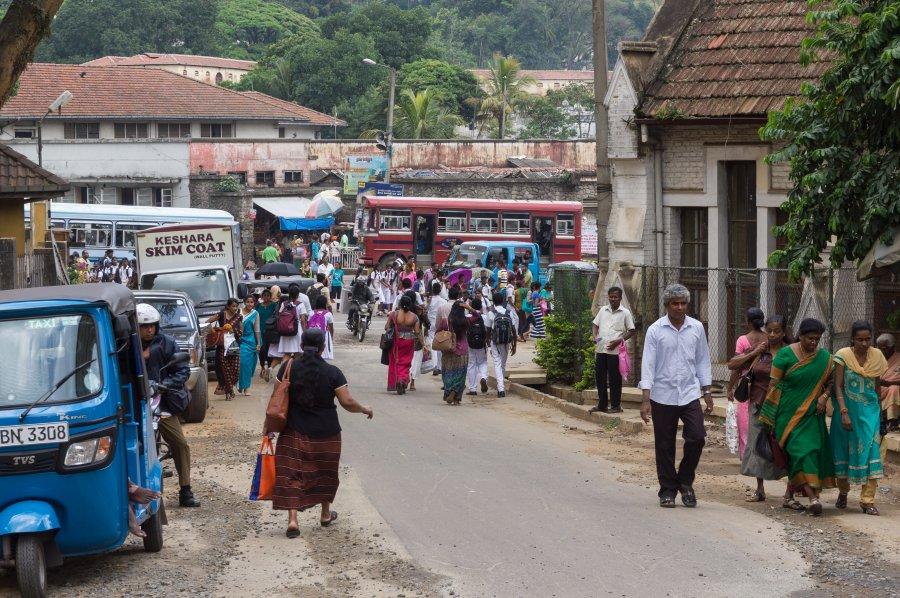 Centre ville de Kandy, Sri Lanka