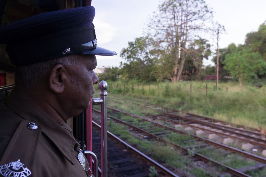 Train de Colombo à Jaffna