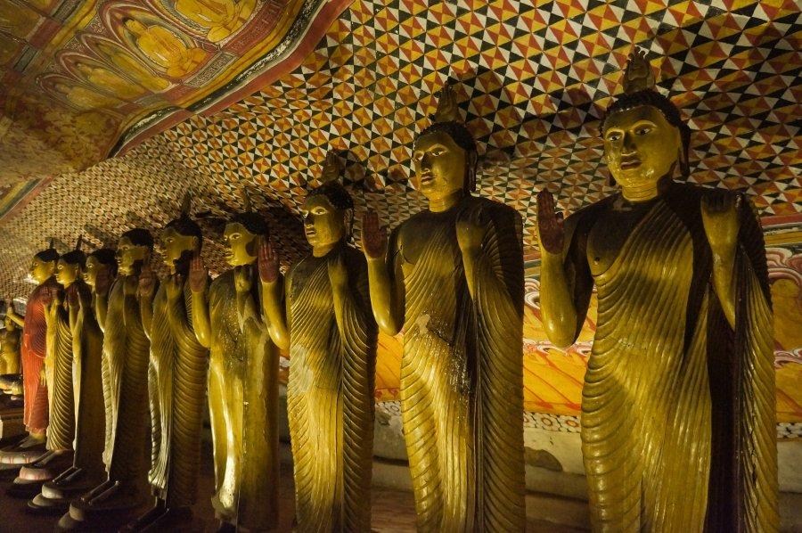 Temple d'or de Dambulla, Sigiriya