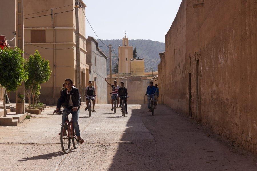 Village de Tiout au Maroc