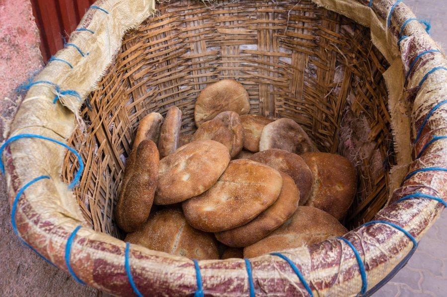Livreur de pain au Maroc