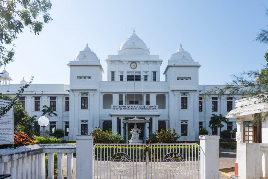 Bibliothèque de Jaffna, Sri Lanka