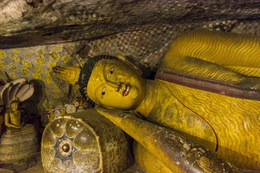 Temple d'or de Dambulla, Sri Lanka