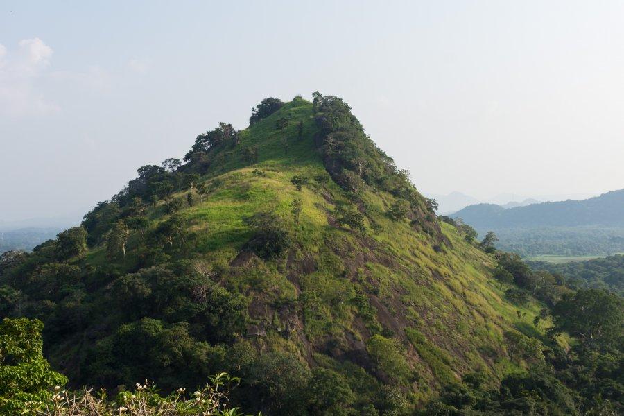 Colline à Dambulla, Sri Lanka