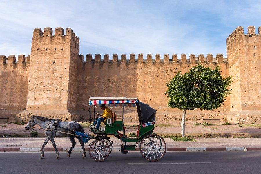 Ville de Taroudant au Maroc