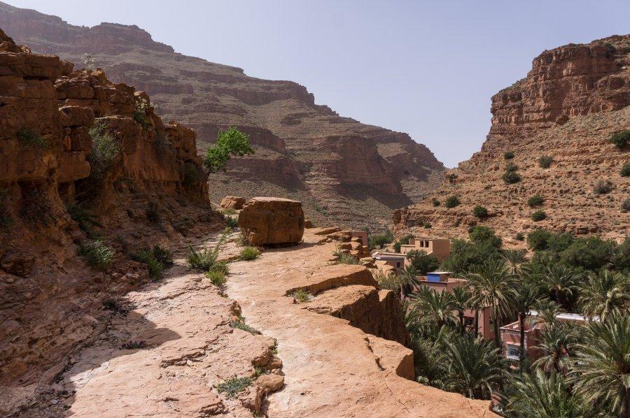 Gorges de l'Aït Mansour, Maroc