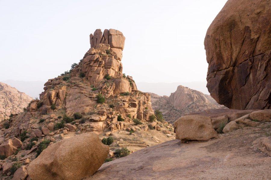 Chapeau de Napoléon, Aguerd-Oudad, Maroc
