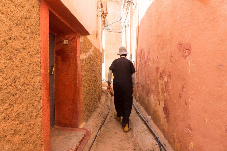 Hassan dans les rues de Tagdicht
