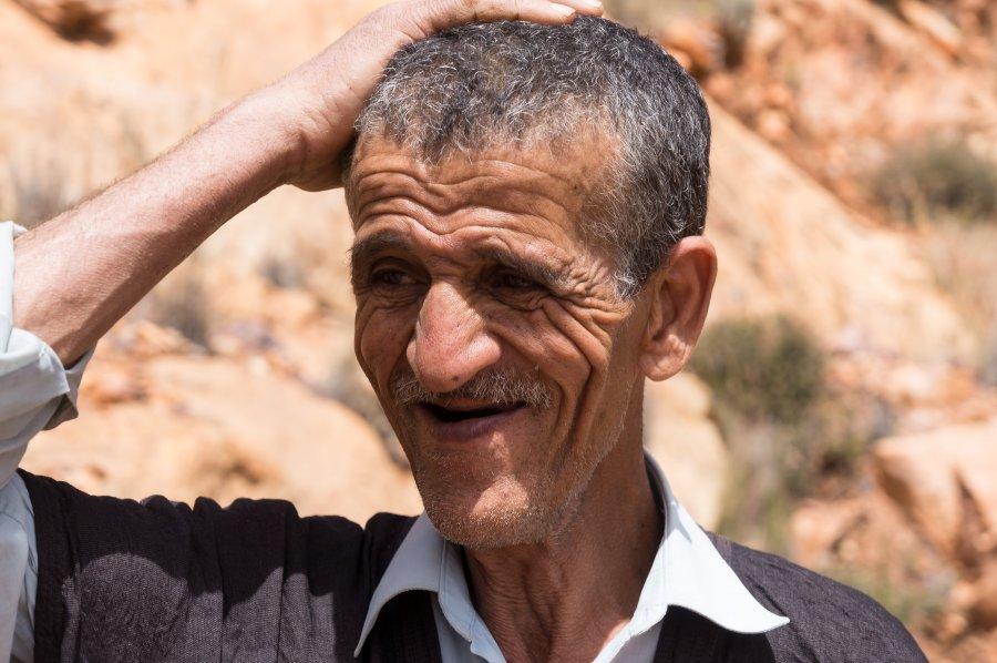 Hassan, guide de montagne à Tagdidht