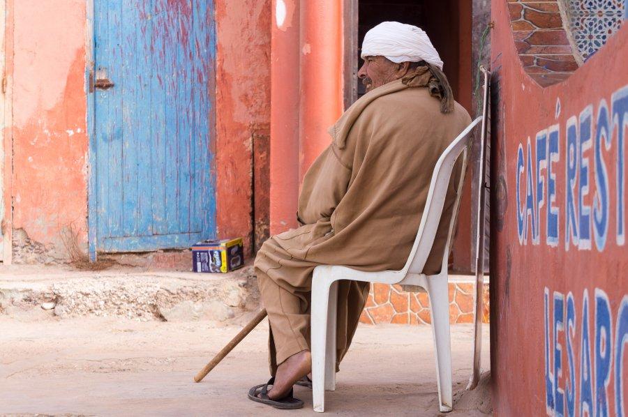 Marocain à Legzira