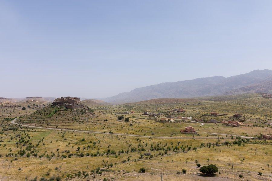 Kasbah de Tizourgane, Maroc