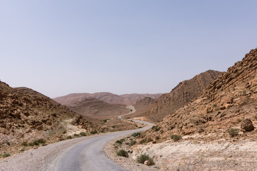 Gorges de l'Aït Mansour, Tafraout, Maroc