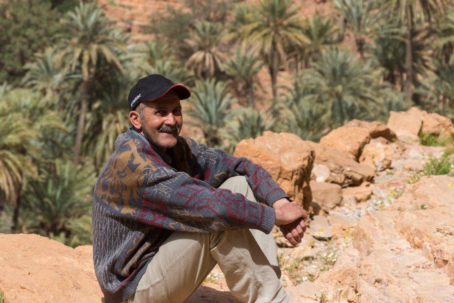 Abdou, Gorges de l'Aït Mansour, Tafraout, Maroc