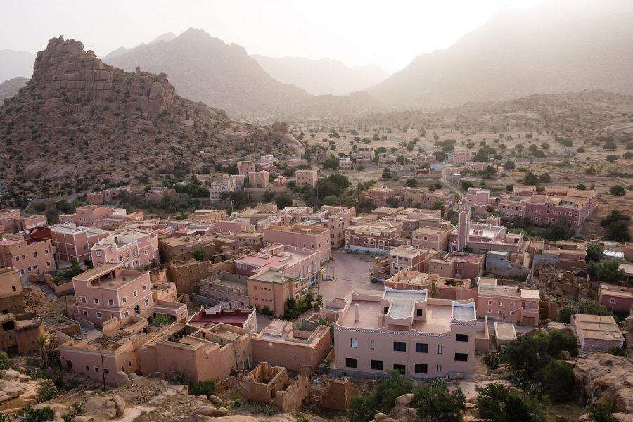 Lever de soleil à Aguerd-Oudad, Maroc
