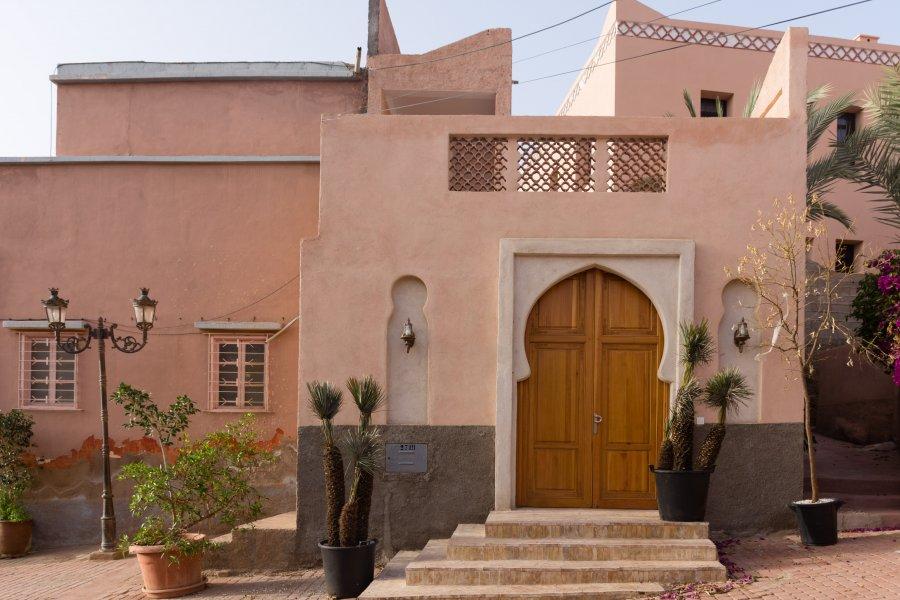 Village d'Aguerd-Oudad, Maroc