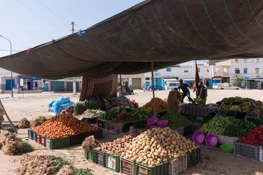 Souk de Mirleft, Maroc