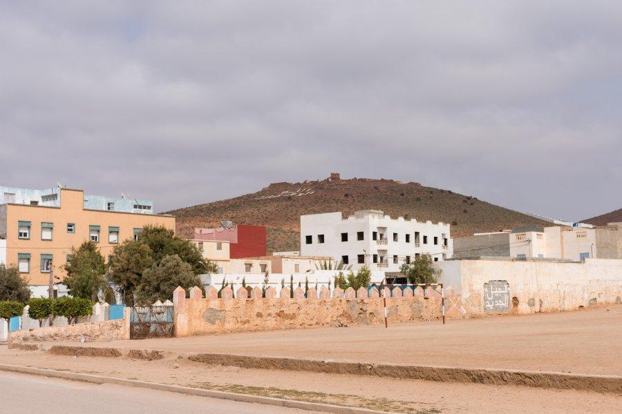 Ville de Mirleft, Maroc