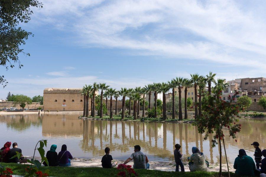 Jardin Jnan Sbil, Fès, Maroc