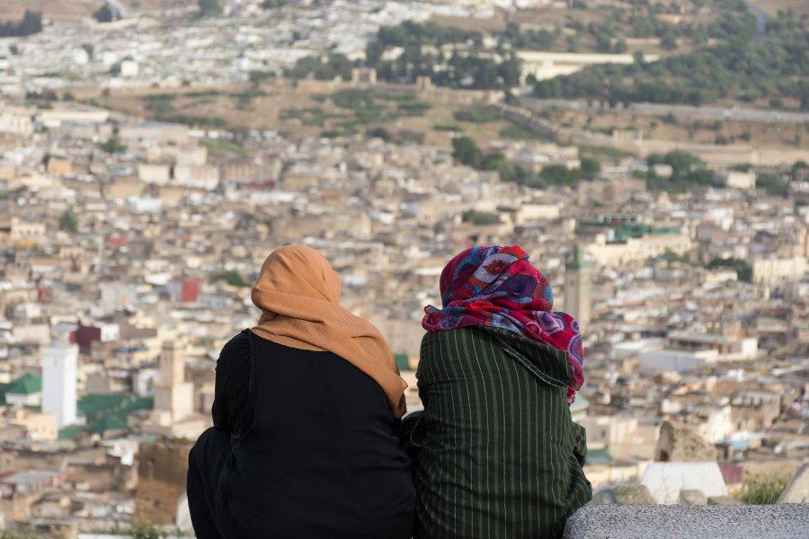 Vue sur Fès, Maroc