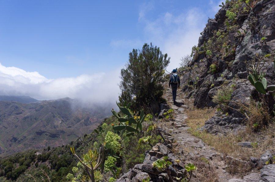 Randonnée de Santa Cruz à Cruz del Carmen, Anaga