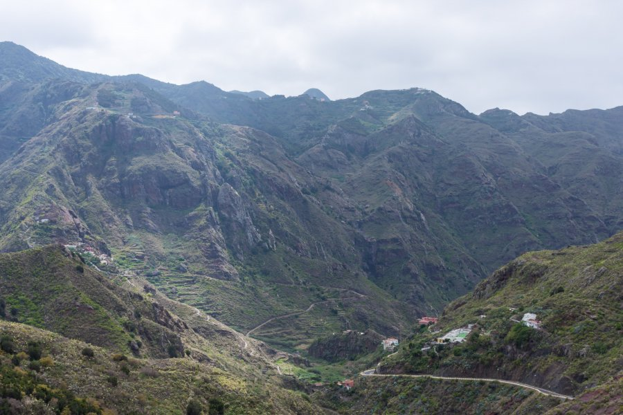 Village d'Afur, Anaga, Tenerife