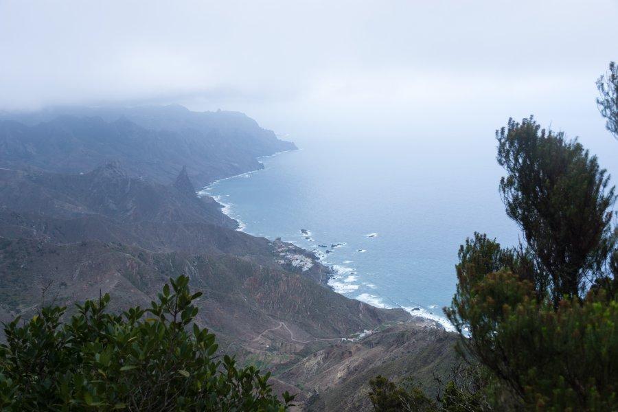 Randonnée dans l'Anaga, Tenerife, Canaries