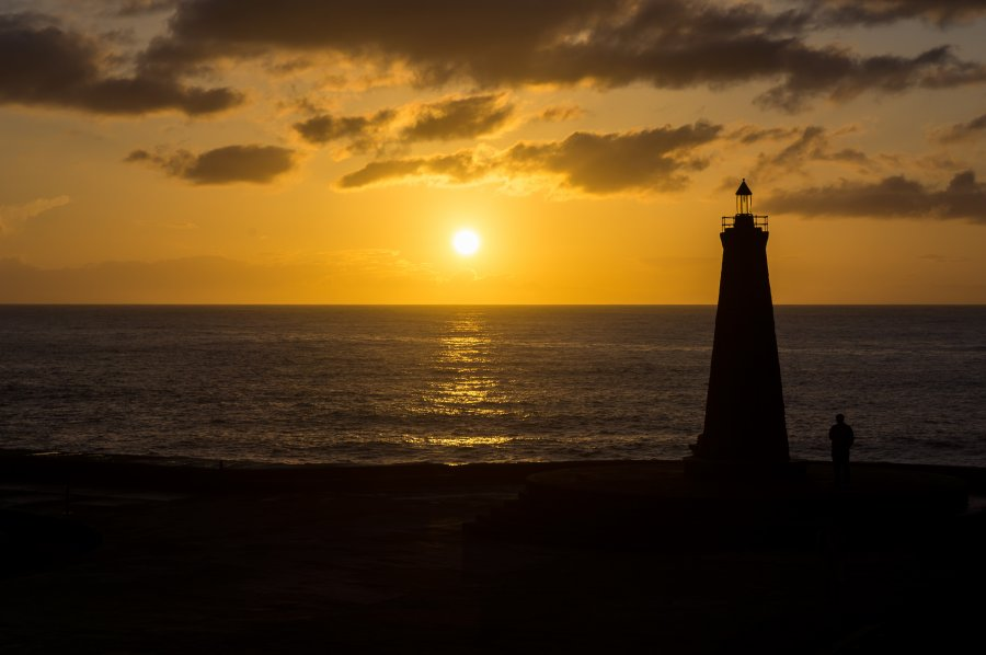 Bajamar au coucher du soleil, Tenerife