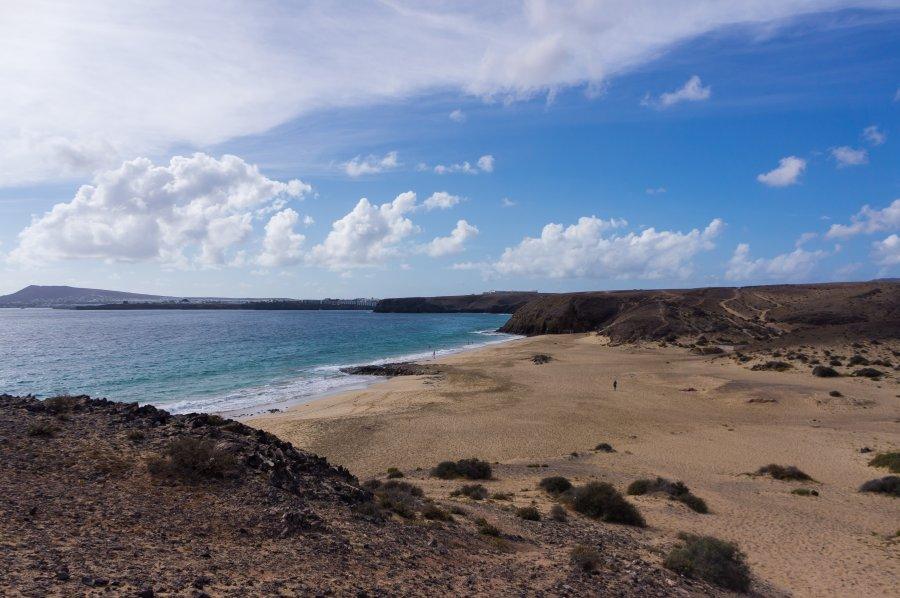 Plage de Papagayo, Lanzarote