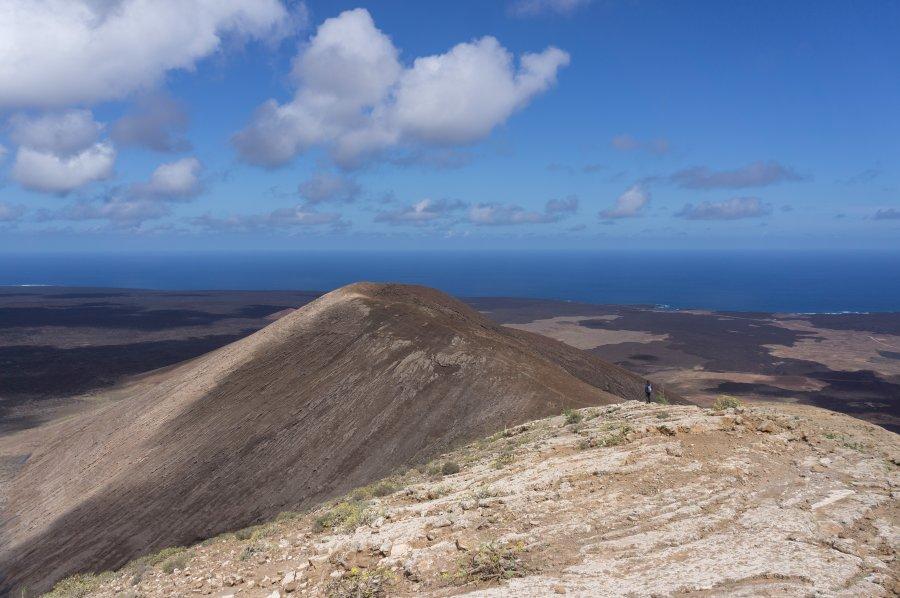 Randonnée sur un volcan de Lanzarote