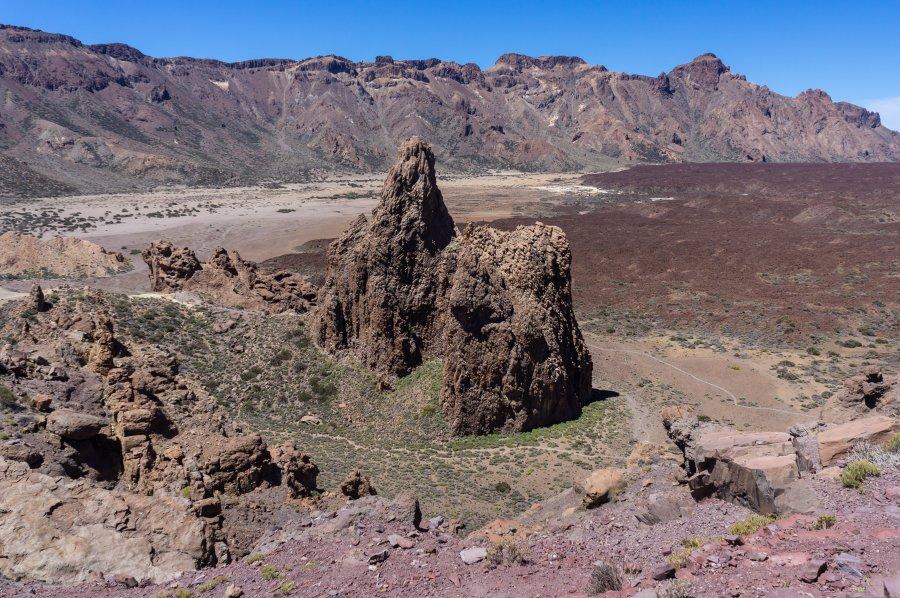 Randonnée autour des Roques de Garcia, Teide, Tenerife