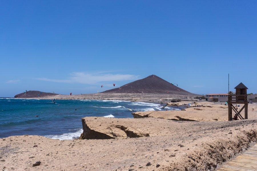 Plage El Medano, Tenerife, Canaries