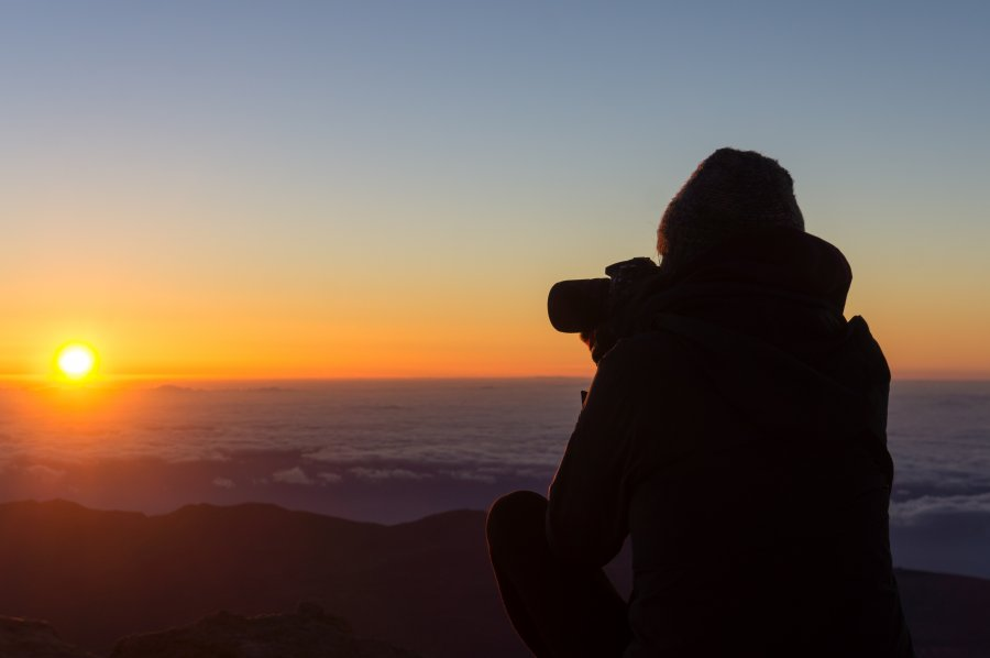 Lever de soleil au sommet du Teide, Tenerife