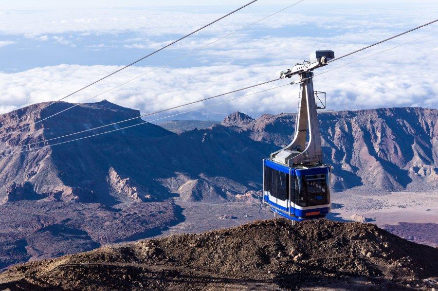 Téléphérique pour le volcan Teide, Tenerife