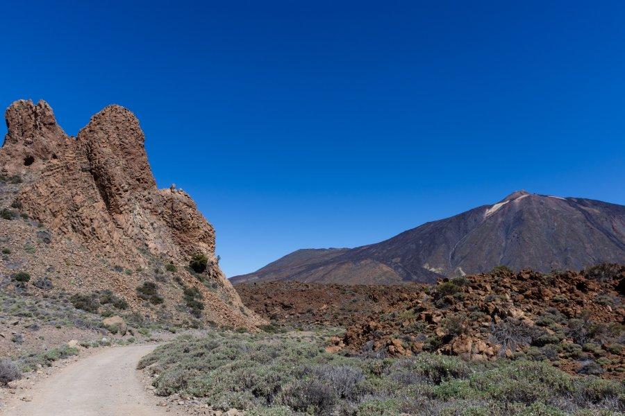 Randonnée des Siete Cañadas, Teide, Tenerife