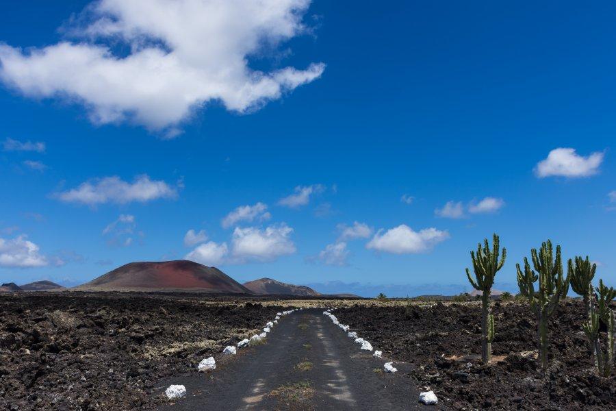 Montaña colorada, Lanzarote