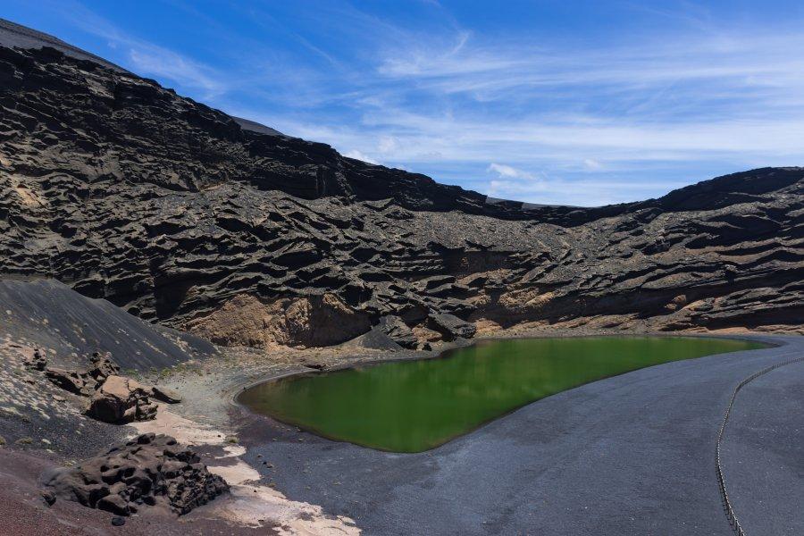 Lagune verte El Golfo, Lanzarote