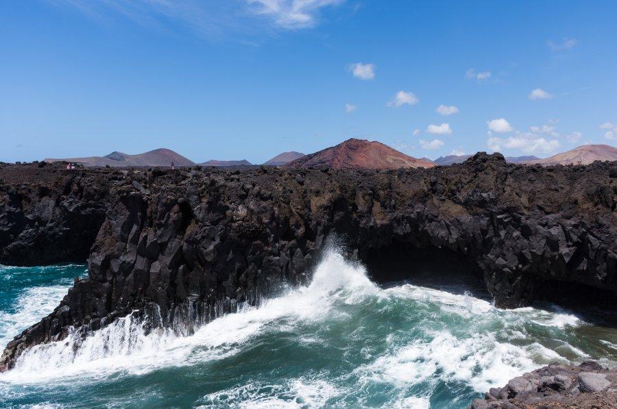 Los Hervideros, Lanzarote, Canaries