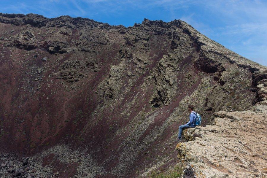 Volcan Monte Corona, Lanzarote