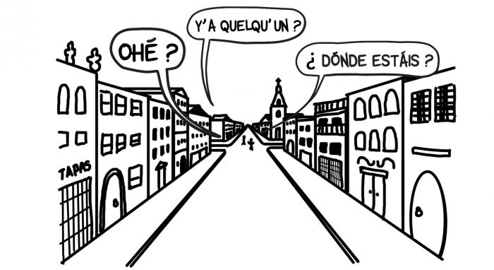 Dessin : y'a personne dans les rues de La Laguna ?