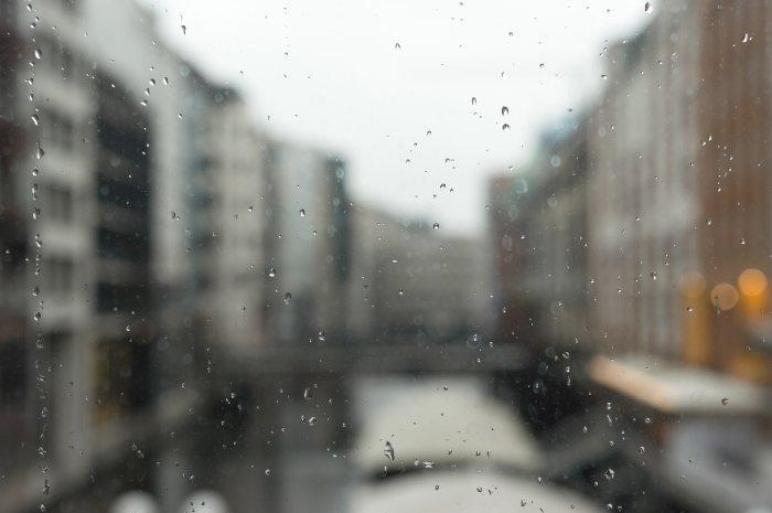 Pluie à Hambourg