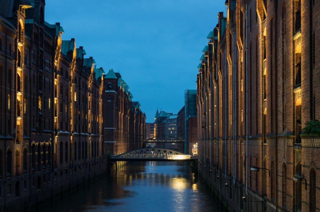Speicherstadt, Hambourg, Allemagne