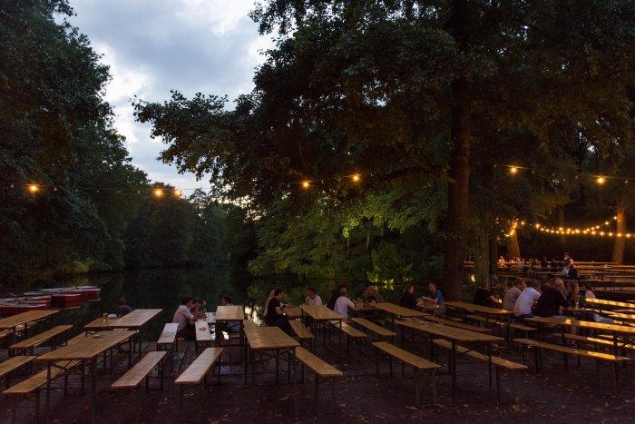 Biergarten à Berlin