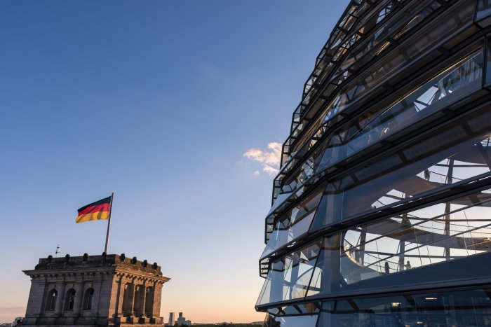 Coupole du Bundestag, Berlin