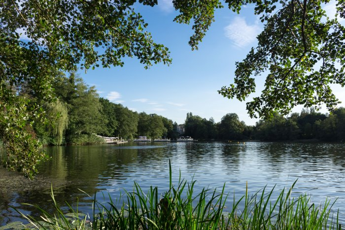 Lac de Halensee, Berlin