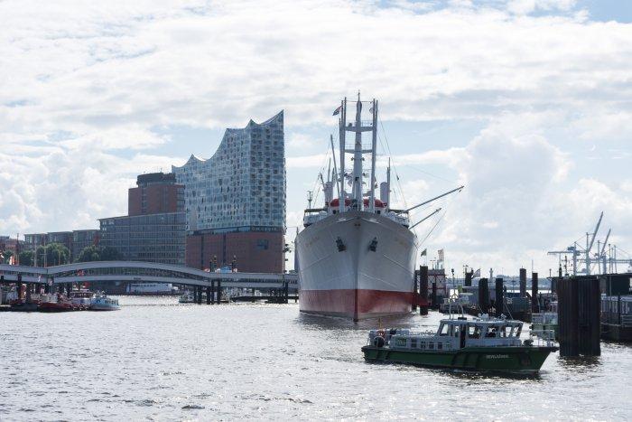 Le port d'Hambourg, Allemagne