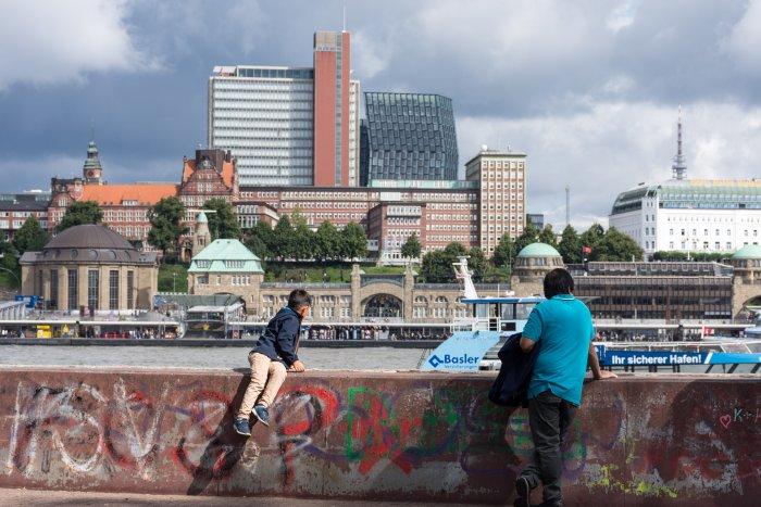 Jetées de Landungsbrücken, Hambourg