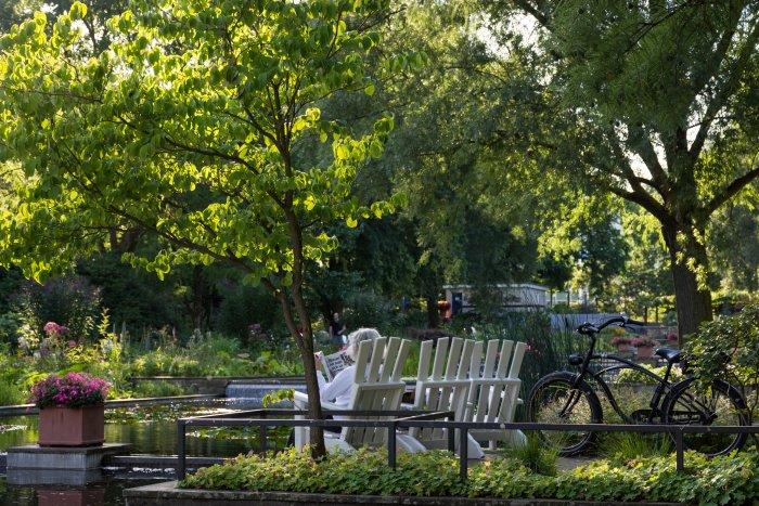 Parc Planten uns Blomen, Hambourg